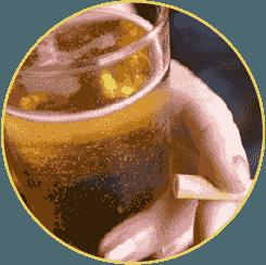 Sinh hoạt thiếu lành mạnh rượu bia thuốc lá