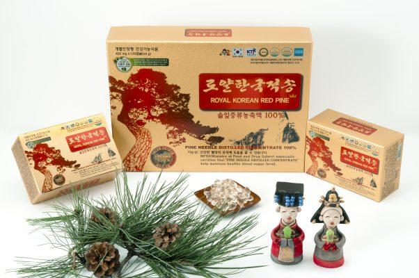 Giá bán tinh dầu thông đỏ 120 viên Royal Korean Red Pine