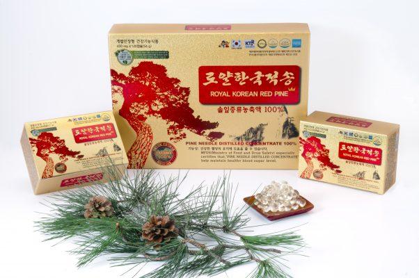 Tinh dầu thông đỏ chính phủ mẫu mới Royal Korean Red Pine