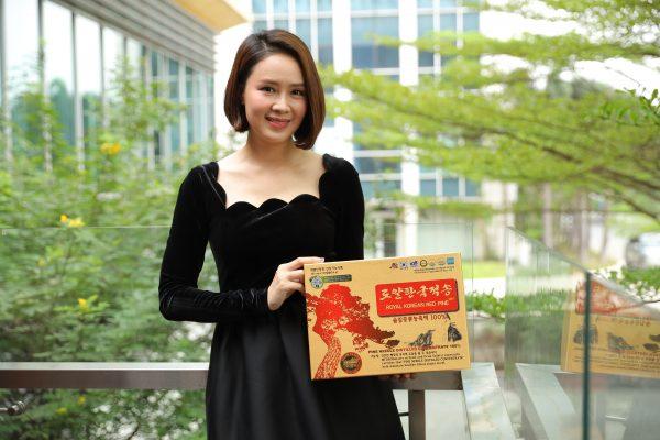 Cảm nhận của DV Hồng Diễm về tinh dầu thông đỏ Hàn Quốc Hoàng Gia