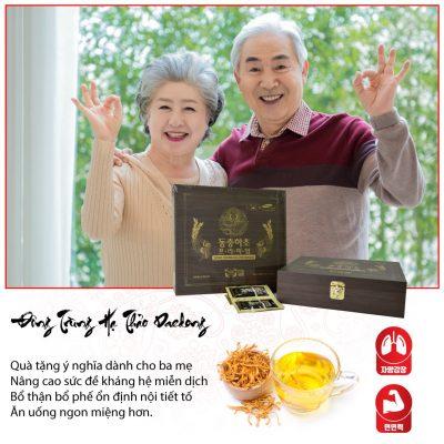 Quà tặng sức khỏe gửi đến người thân, cha mẹ